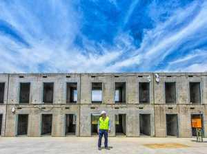 Block by block the biggest jail in Australia is taking shape