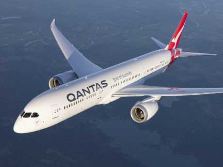 Melissa and Martin have seen it all in the Qantas cabins. Picture: Qantas