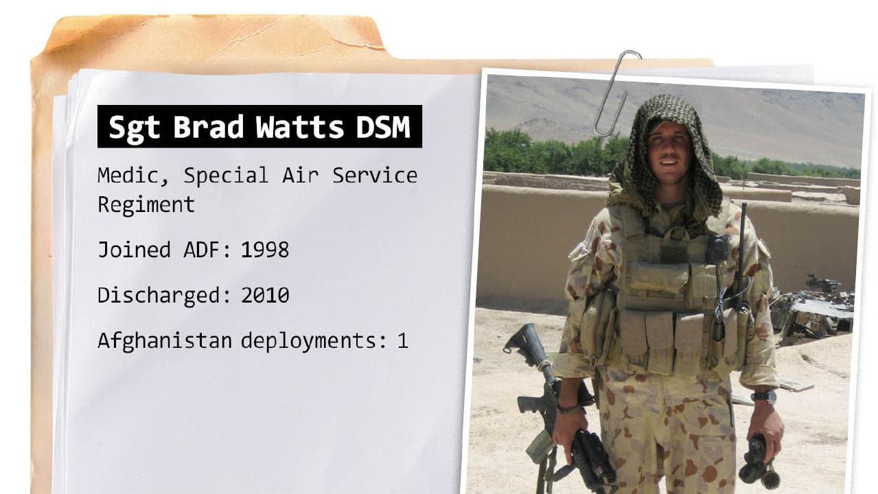 Sergeant Brad Watts.