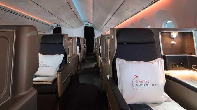 Qantas flight attendants reveal the weird behaviour of passengers on board. Picture: Qantas