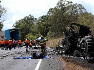 Partner mourns truckie killed in horror Kennedy Highway crash