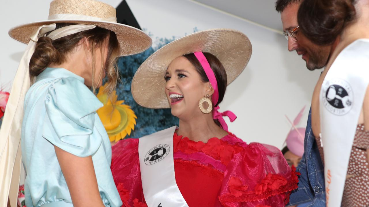 Myer Fashions on the Field final winner Jordan Beard. Picture: David Caird