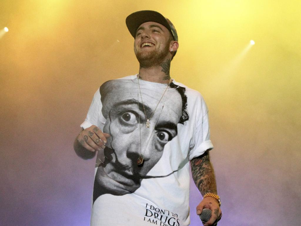 Mac Miller was just 26 when he died. Picture: AP