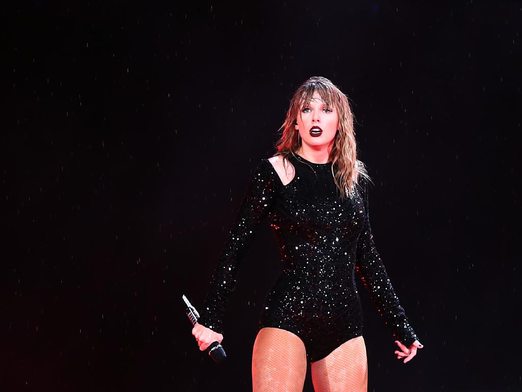 """Taylor Swift really didn't have to ask her 40 000 or so """"Swifties"""" if they were """"ready for it?"""" at The Gabba. Picture: Mark Metcalfe/Getty Images"""