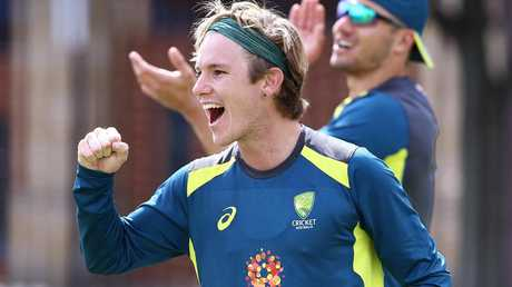 Adam Zampa missed out on the first game in Perth.