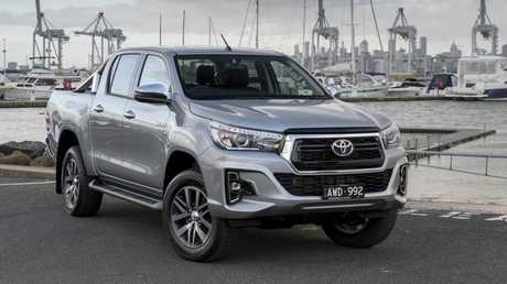 The Toyota HiLux is the best selling vehicle in the country.
