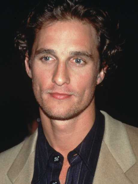 McConaughey in 1997 — the year Titanic was released. Picture: Victor Malafronte/Hulton Archive/Getty Images