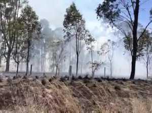 Gladstone Grass Fire