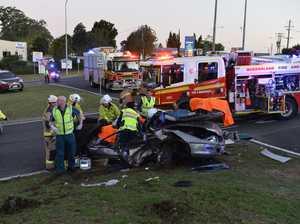 Toowoomba range crash driver had seizure at the wheel