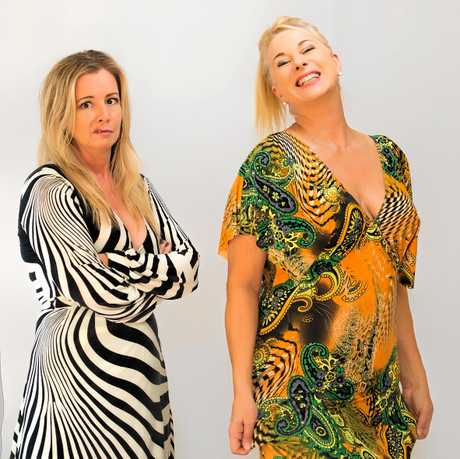 DOUBLE TROUBLE: Mandy Nolan and Ellen Briggs are bringing their