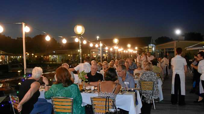 UNDER THE MOONLIT SKY: More than 180 guests dinned under the moonlight to raise money for chaplains in state schools across the Noosa District.