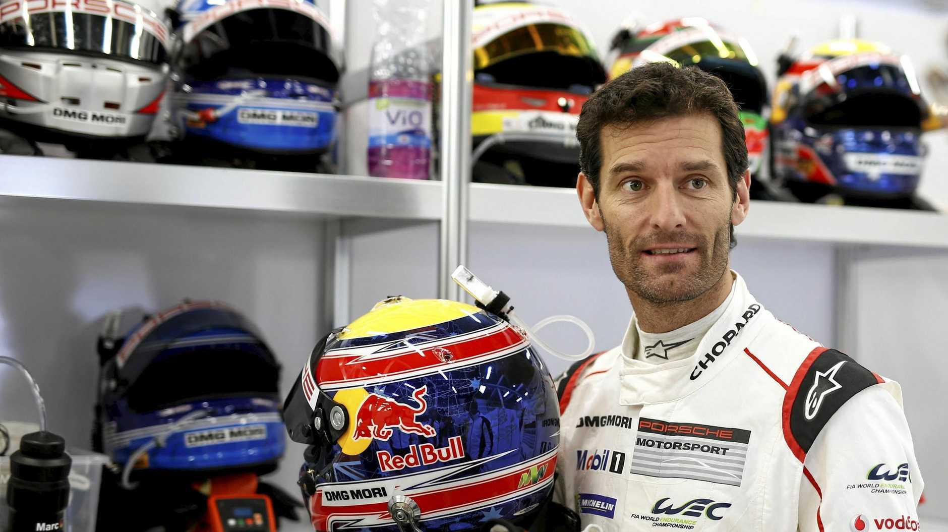 Ex-Formula One star Mark Webber.