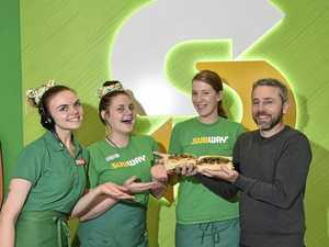 Toowoomba Subway lovers help feed 85,000 locals in need