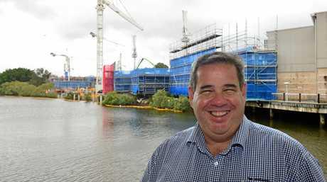 Sunshine Plaza centre manager Michael Manwaring.