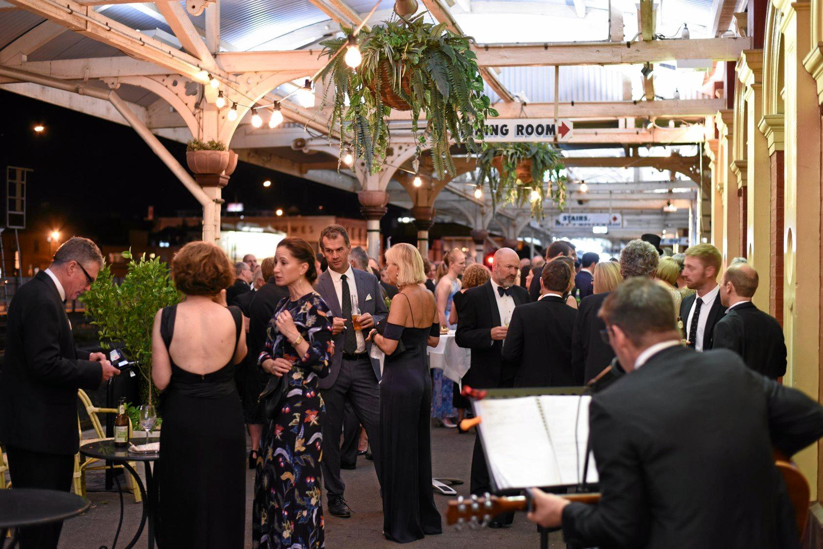 More than 100 people attended the sold out black tie event at Inbound Restaurant.