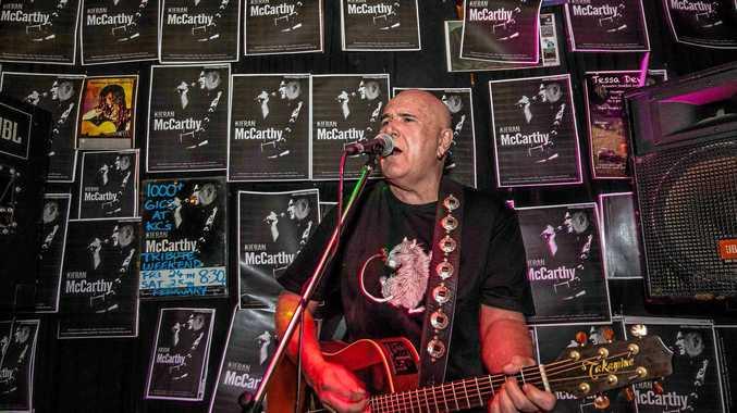 Whitsundays music icon Kieran McCarthy.