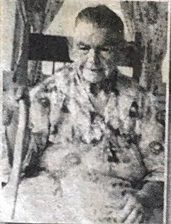 Pastor Dallmann's great grandmother Matilda Hilton.