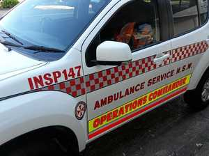 Woman hospitalised after being struck by car