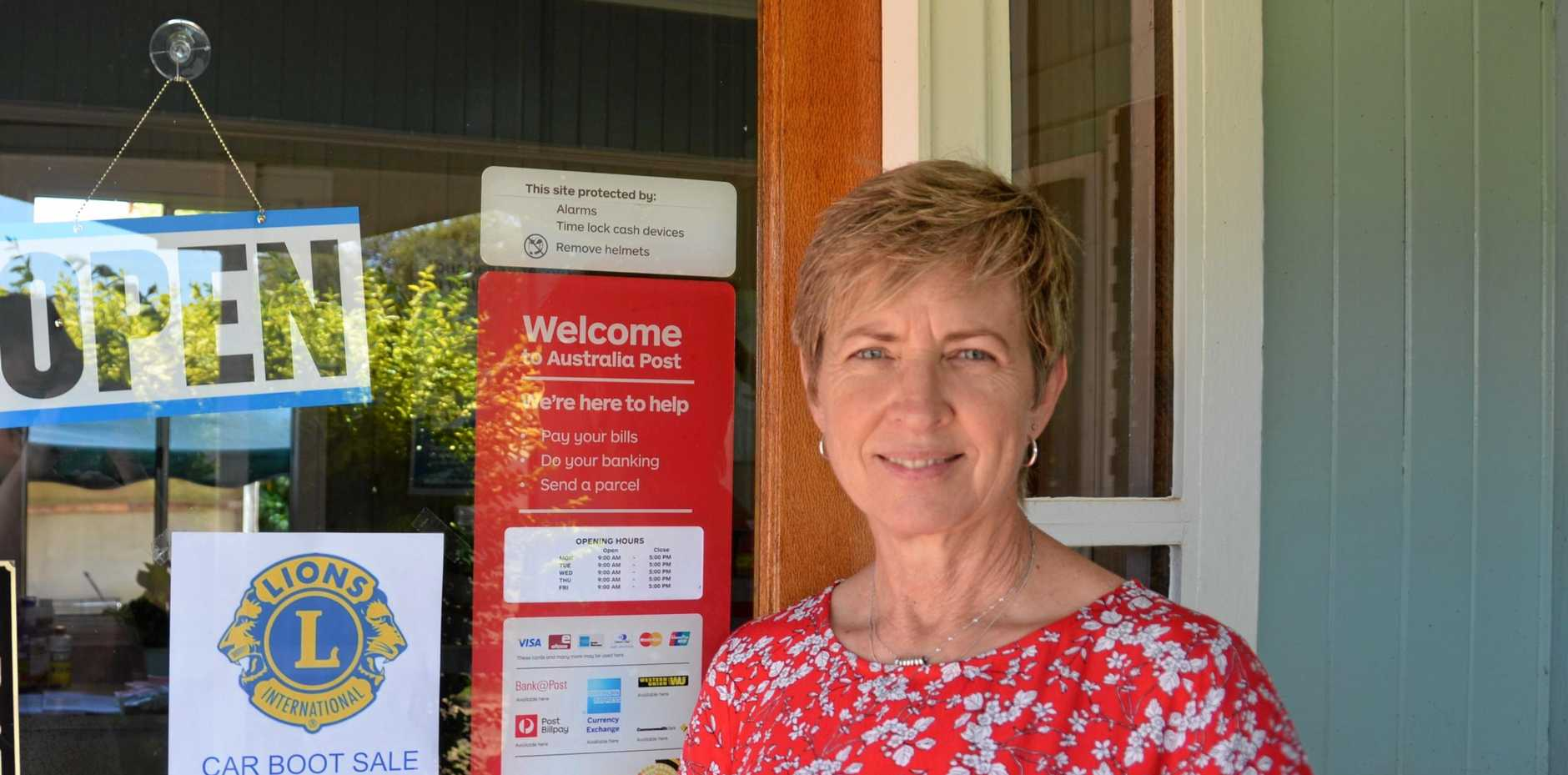 NEW OWNER: Wendy Turner has taken over the Wooroolin Post Office