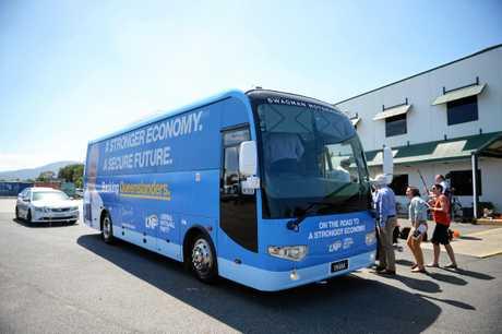 Scott Morrison bus.