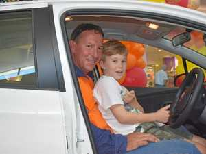 Gympie man wins brand new car at Gympie Central