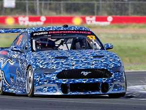 Mustang's test success at Ipswich track