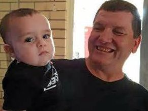 LOOKING FOR WORK: Rodney Stewart (pictured with his grandson) has found it hard to find work with his barriers