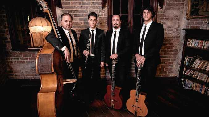 GYPSY JAZZ GROUP: Sassafras Quartet.