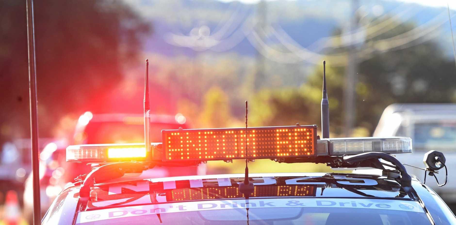 Police conduct roadside breath tests and saliva testing near Goolmanger in conjunction with Nimbin MardiGrass.