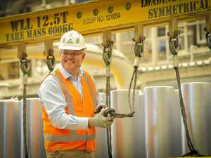 'Sipping almond lattes': PM's swipe at Labor over Boyne Smelters