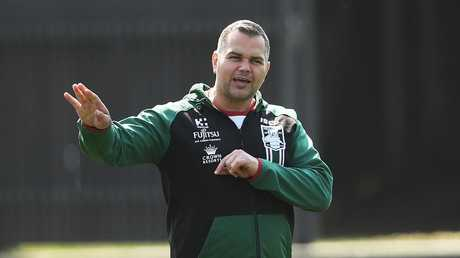 Anthony Seibold is set to switch with Wayne Bennett. Picture. Phil Hillyard