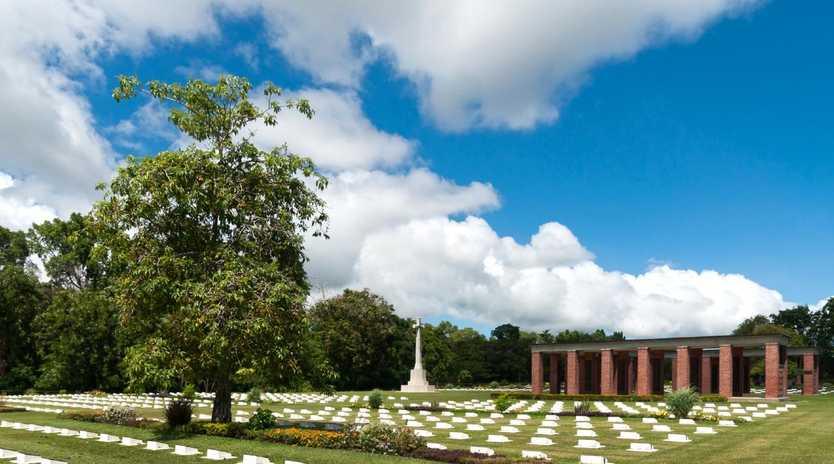 Labuan War Cemetery and Memorial. Picture: CEphoto/Uwe Aranas Source: https://commons.wikimedia.org/wiki/File:Labuan_Malaysia_War-Cemetery-03.jpg