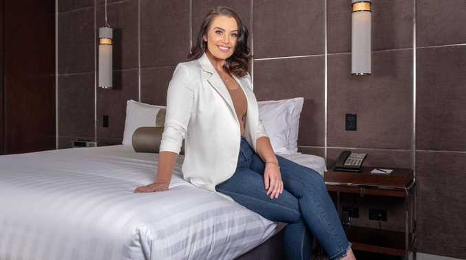 Courtney Thorpe has partnered with Gambaro Hotel for a Live Like a WAG package.