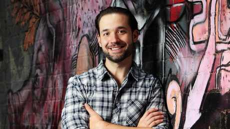 "Mr Ohanian said ""hustle porn"" took a toll on workers' wellbeing. Picture: Aaron Francis/The Australian"