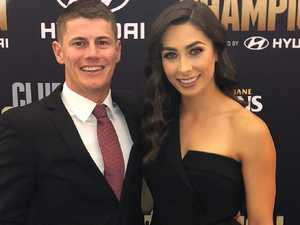 AFL couple's split plastered on social media