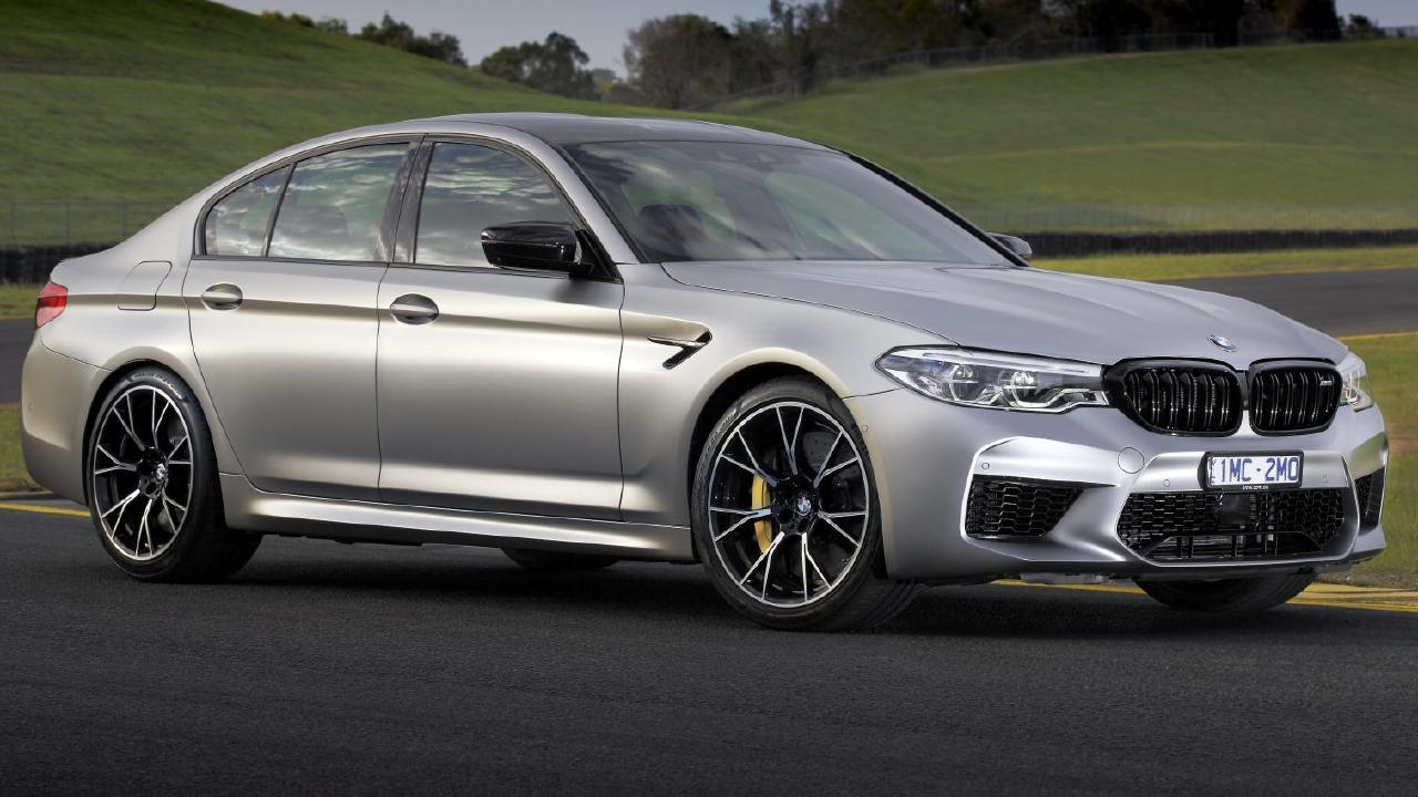 The M5 Competition's engine has seen a slight power bump.