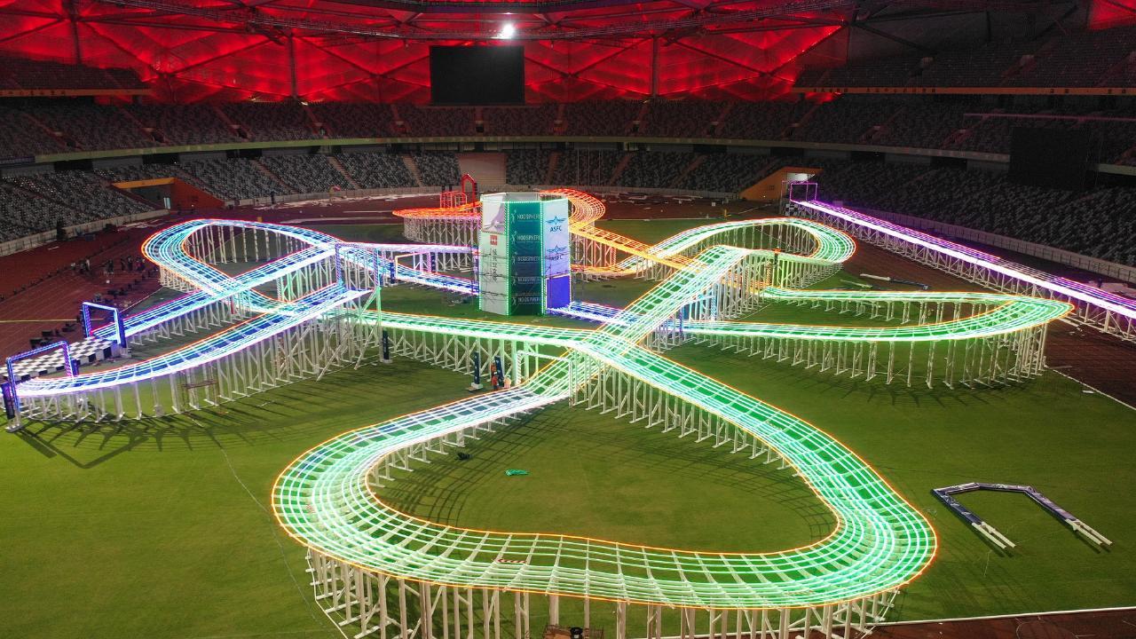 FAI World Drone championships track
