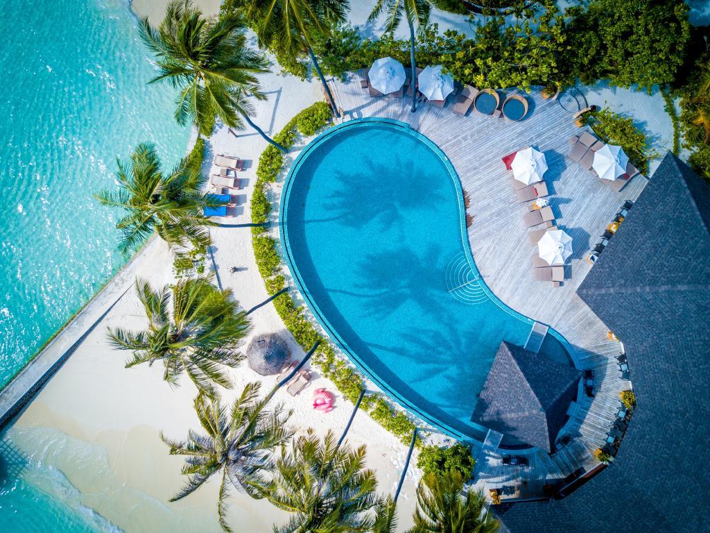 Pool vibes at the Centara Grand Island Resort & Spa Maldives. Picture: Centara