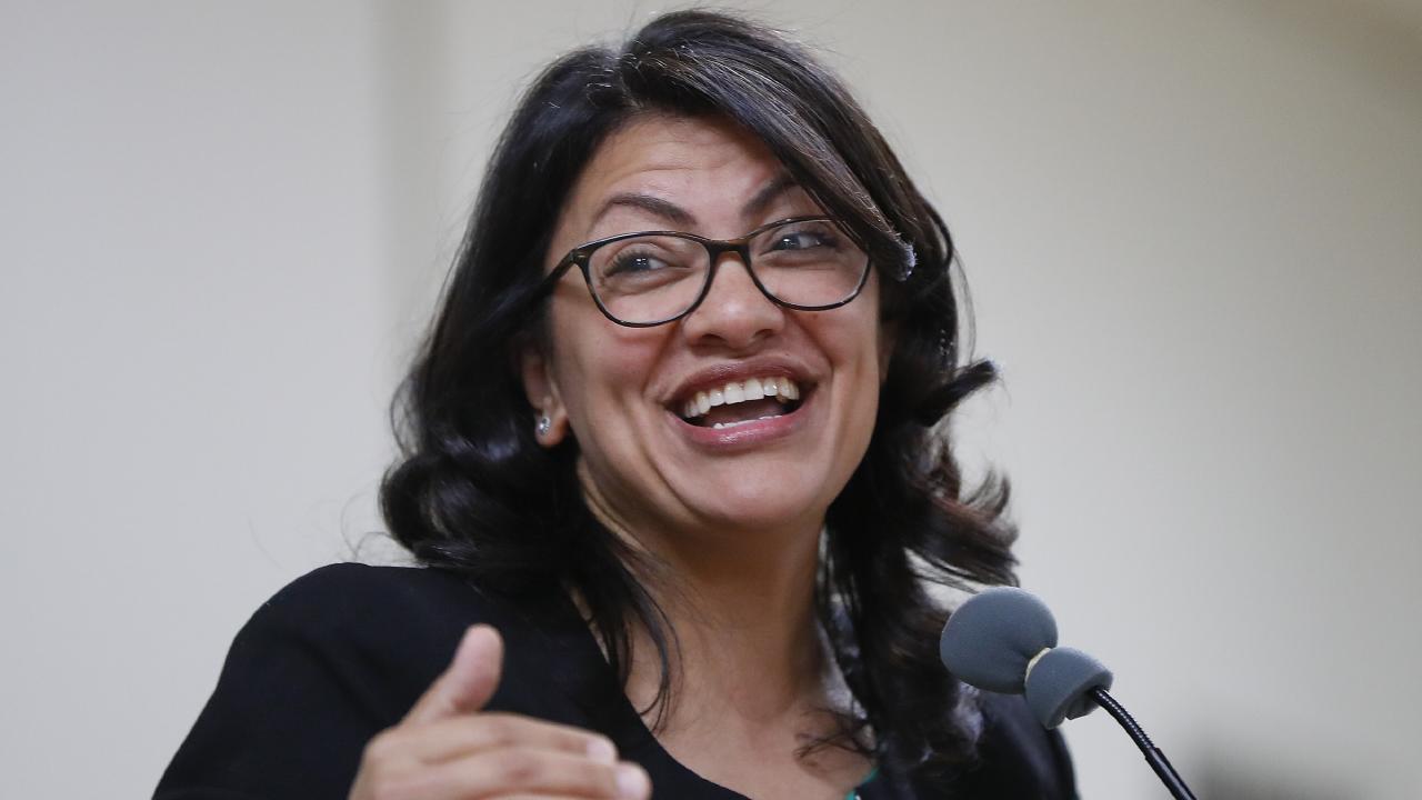 Rashida Tlaib. Picture: Paul Sancya/AP