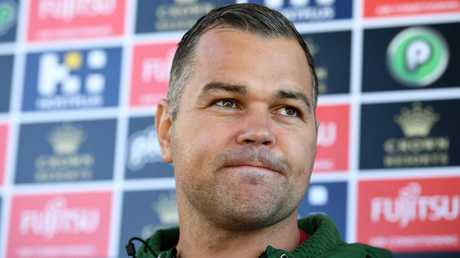 Seibold returned to work on Wednesday. Picture: Joel Carrett/AAP
