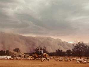 Massive dust storm swallows NSW town