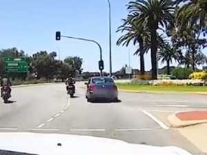 Driver's embarrassing road rage error