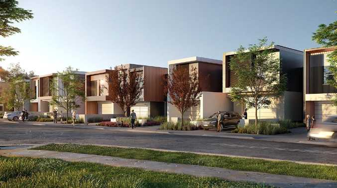 Townhouses in Mulpha's Essentia project will have 'smart' energy features.