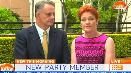 Today host Karl Stefanovic grills Mark Latham and Pauline Hanson on how their new relationship will work.