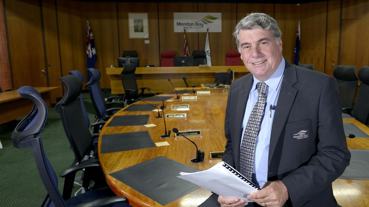 Moreton Bay Regional Council Mayor Allan Sutherland. Picture: Bradley Cooper.