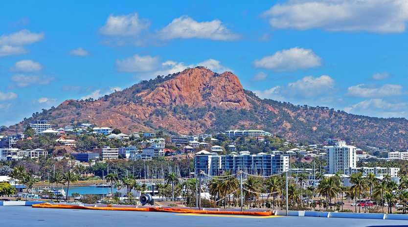 View of Castle Hill in Townsville. Picture: Zak Simmonds