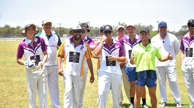 BOWLING BLITZ: Souths wound up with the win at the men's T20 final on Saturday after bowling the Leprechauns out for 45.