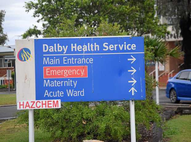 SECURITY IS BACK: Safety will be ramped up at Dalby Hospital.