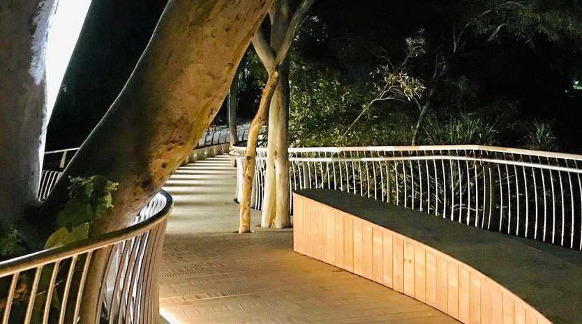 The recently upgraded Park Road boardwalk has already won an environmental award.