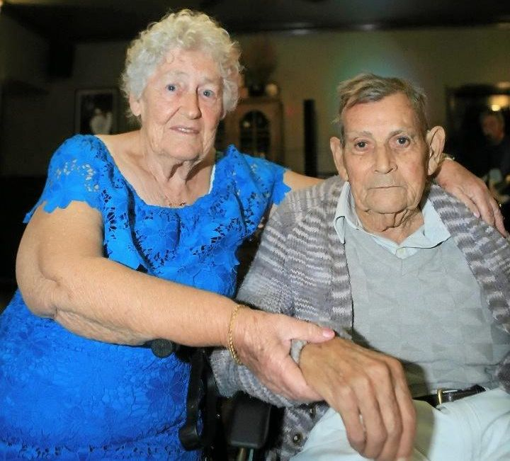 Brian and Elizabeth Chambers celebrate 60 years of marriage in November 8.